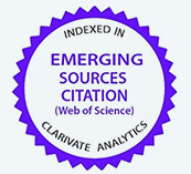 INDEXED IN EMERGING SOURCES CITATION(Web of Science CLARIVATE ANALYTICS)